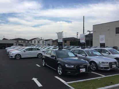 Audi湘南 展示車多数!ということは・・・
