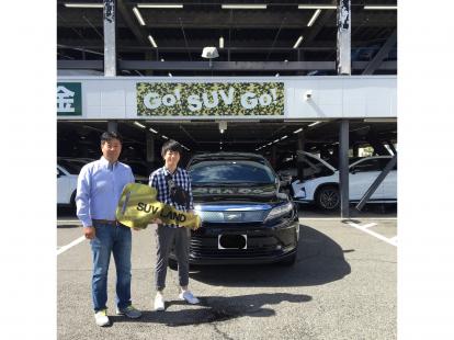 Y様 トヨタ ハリアー DBA-ZSU60W ご納車 祝!!