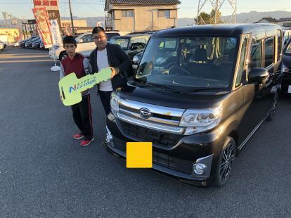 ☆祝☆ ご納車 ダイハツ タントカスタム LA600S