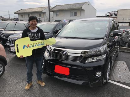 ☆祝☆ ご納車 トヨタ ヴェルファイア  ANH20