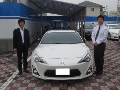 「トヨタ 86 DBA-ZN6」ご納車 ネクステージ中川 セダン・スポーツ専門店