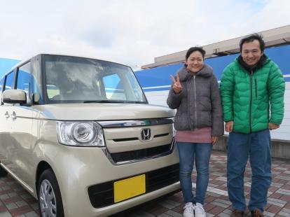 ★祝ご納車 (ホンダ・N BOX・DBA-JF3)