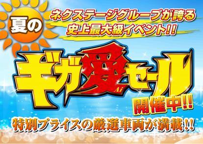 夏のギガ愛セール開催中!!