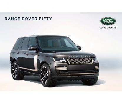 世界限定1970台 特別仕様車「Range Rover Fifty」のご案内