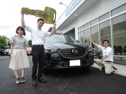 「マツダ CX-5(LDA-KE2AW)」祝ご納車