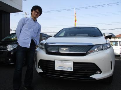 K様、祝☆トヨタ ハリアー (DBA-ZSU60W) ご納車!!