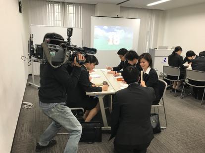九州放送「ふくおかサテライト」で当社の新卒採用の取り組みについて取材を受け、放送されました。