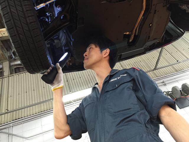 ネクステージのスタッフ写真 メカニック 中川 雅俊