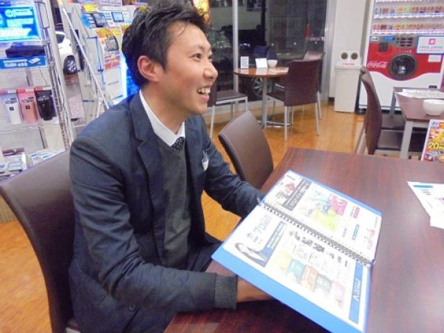 ネクステージのスタッフ写真 カーライフアドバイザー 草場 慎太郎