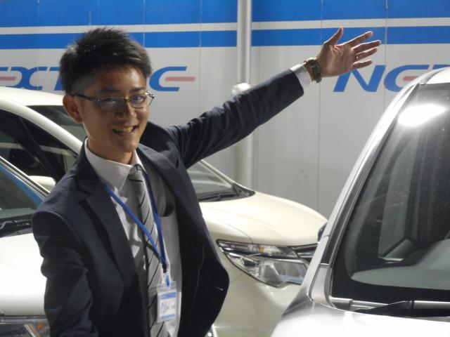 ネクステージのスタッフ写真 カーライフアドバイザー 田中光隆