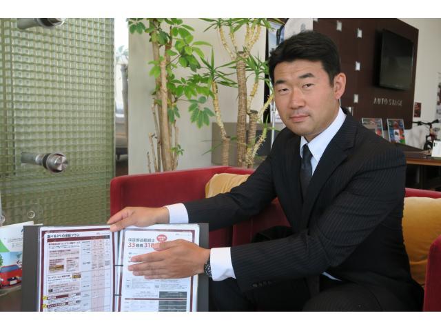 ネクステージのスタッフ写真 カーライフアドバイザー 中田 資晃