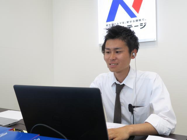 ネクステージのスタッフ写真 カーライフアドバイザー 南谷 天斗