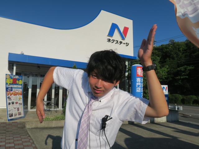 ネクステージのスタッフ写真 カーライフアドバイザー 井上 景太