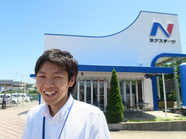ネクステージのスタッフ写真 サービスフロント 日比野 隼大