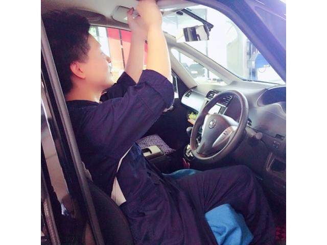 ネクステージのスタッフ写真 メカニック 中村 賢二