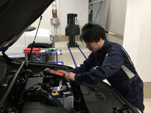 ネクステージのスタッフ写真 メカニック 中田守