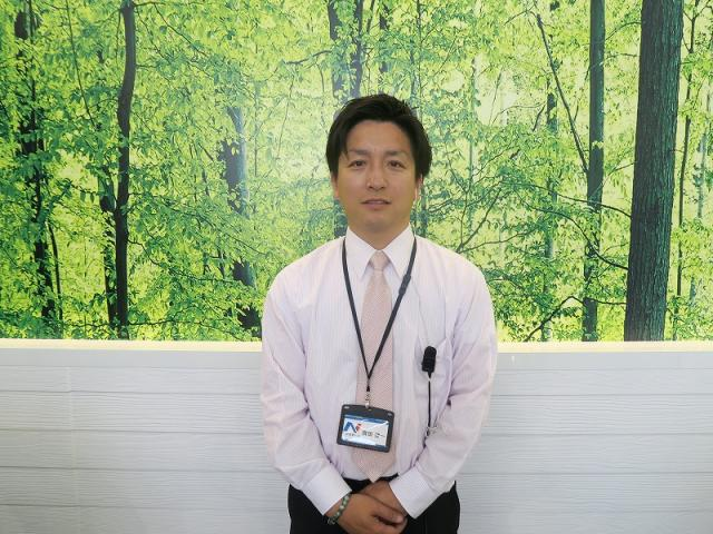 ネクステージのスタッフ写真 カーライフアドバイザー 斉田 健一