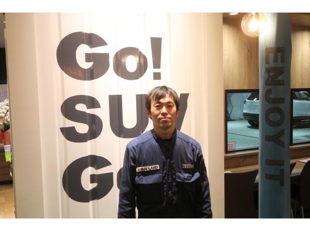 ネクステージのスタッフ写真 メカニック 奥村 清之介