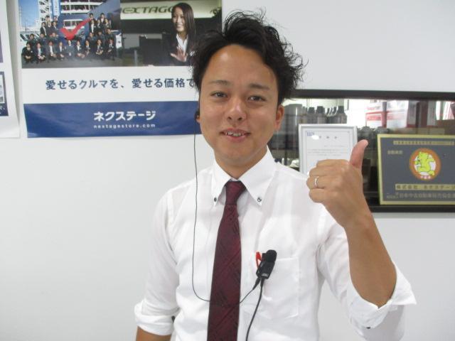 ネクステージのスタッフ写真 カーライフアドバイザー 小松 宏年