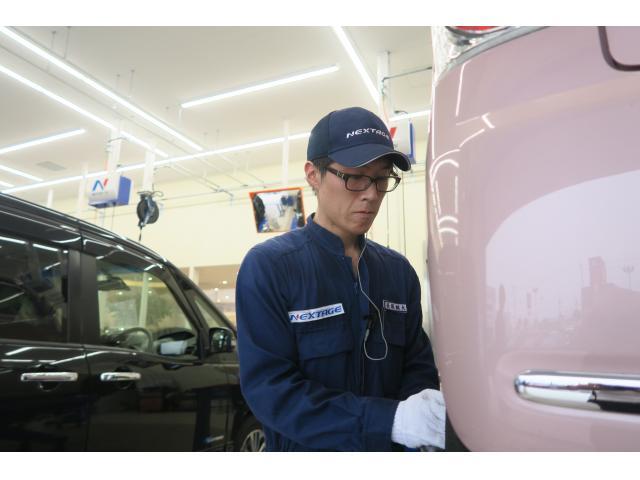 ネクステージのスタッフ写真 メカニック 長坂 誠大
