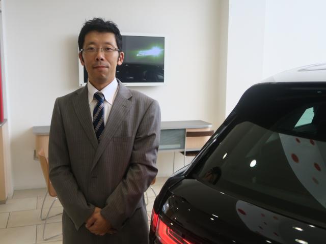 ネクステージのスタッフ写真 サービスマネージャー 中川 秀行