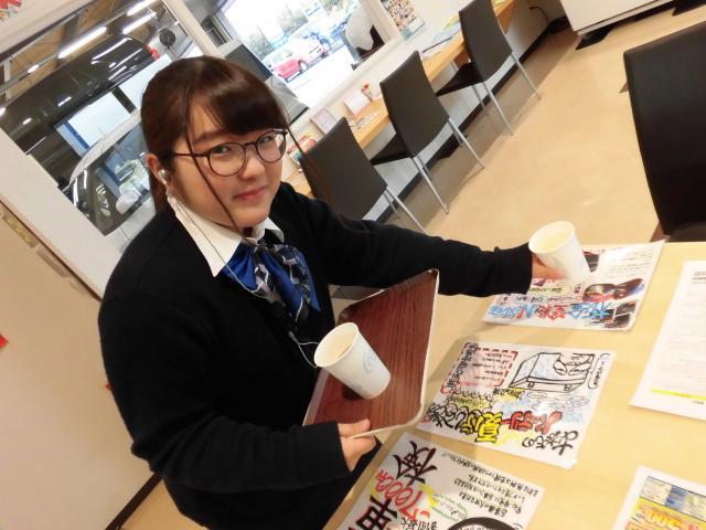 ネクステージのスタッフ写真 サービスフロント 平野 玖留実