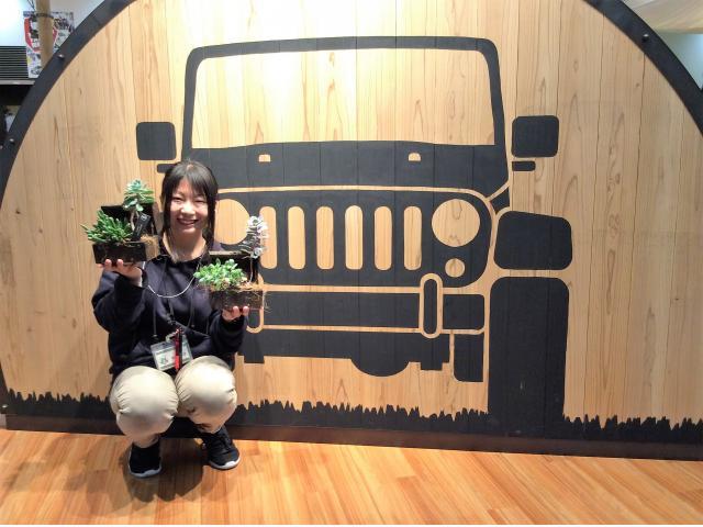 ネクステージのスタッフ写真 カーライフアドバイザー 越川 裕香