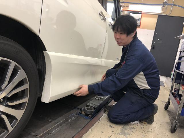 ネクステージのスタッフ写真 メカニック 大泉 宏行