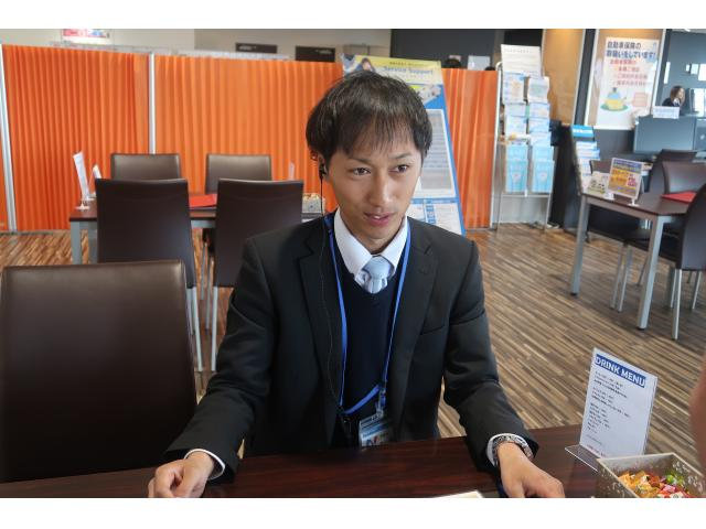 ネクステージのスタッフ写真 カーライフアドバイザー 菊山 真志
