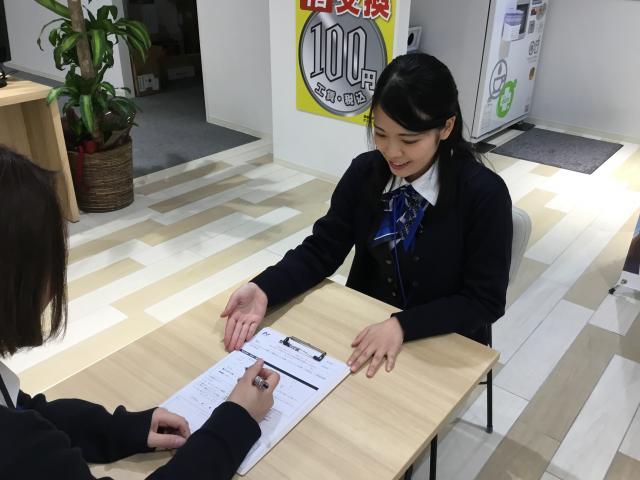ネクステージのスタッフ写真 カーライフプランナー 石崎 莉香子
