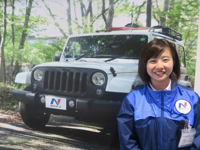 ネクステージのスタッフ写真 カーライフアドバイザー 佐々木 香澄