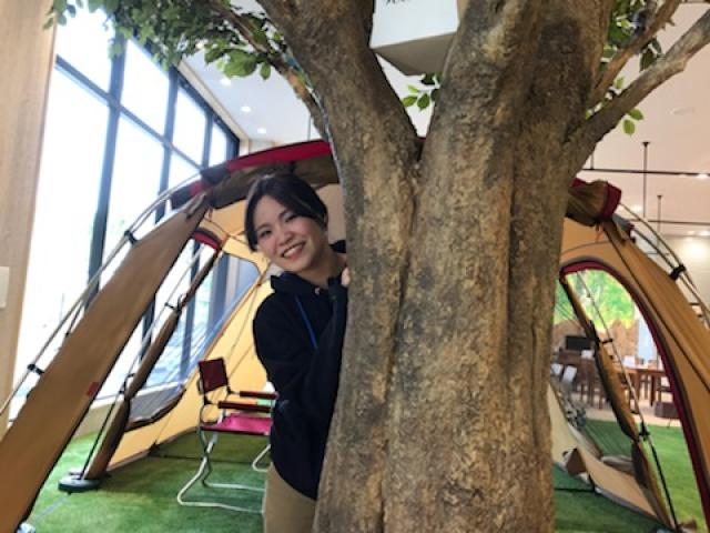 ネクステージのスタッフ写真 カーライフアドバイザー 松永 菜月