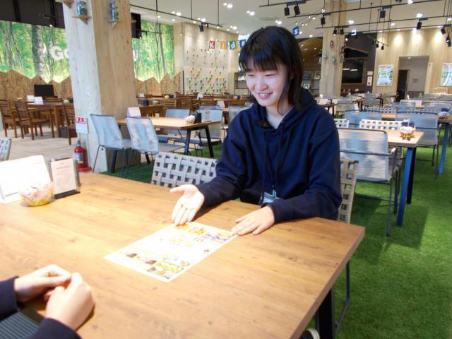 ネクステージのスタッフ写真 サービスフロント 米田 明日香