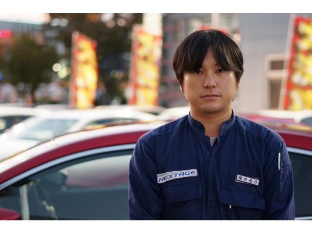 ネクステージのスタッフ写真 メカニック 福田 亮介