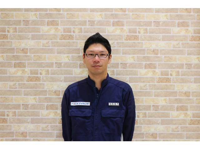 ネクステージのスタッフ写真 工場長 竹内 晃平