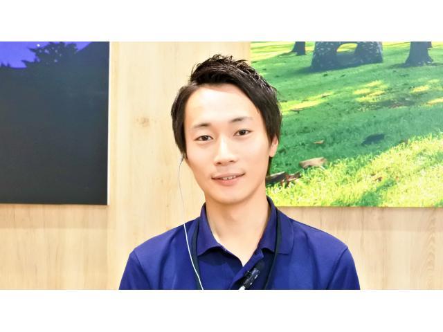 ネクステージのスタッフ写真 カーライフアドバイザー 大濱 祐介