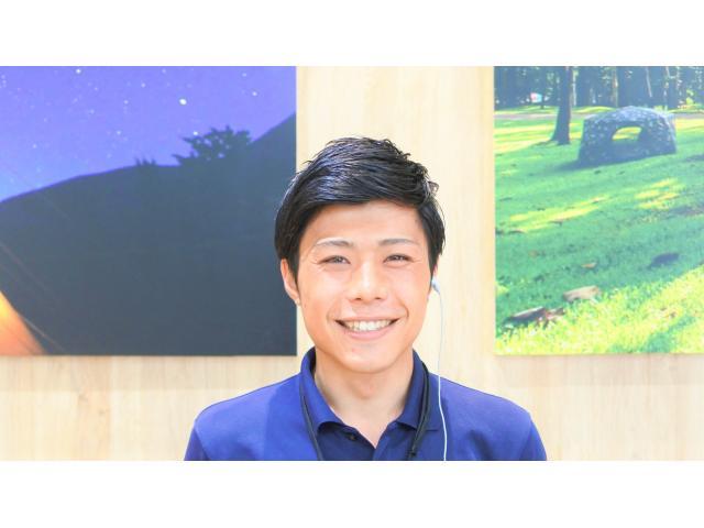 ネクステージのスタッフ写真 カーライフアドバイザー 戸田 和明