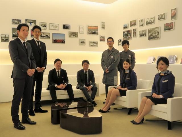 ネクステージのスタッフ写真 セールス マセラティ 仙台