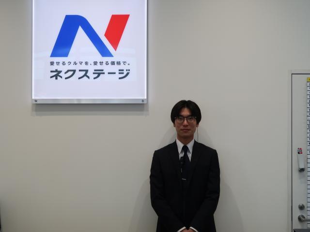 ネクステージのスタッフ写真 カーライフアドバイザー 伊藤 陽祐