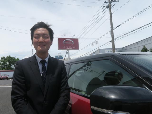 ネクステージのスタッフ写真 カーライフアドバイザー 冨永 陽平