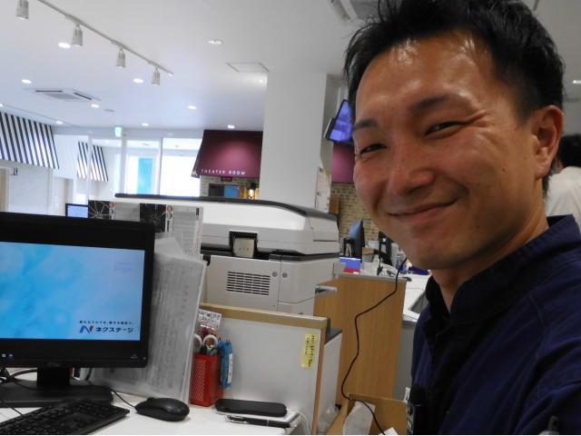 ネクステージのスタッフ写真 工場長 辻本昌司