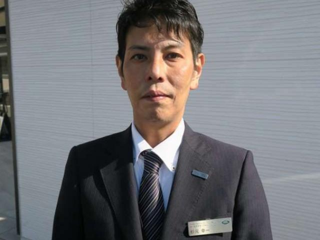 ネクステージのスタッフ写真 セールスマネージャー 杉元 幸一