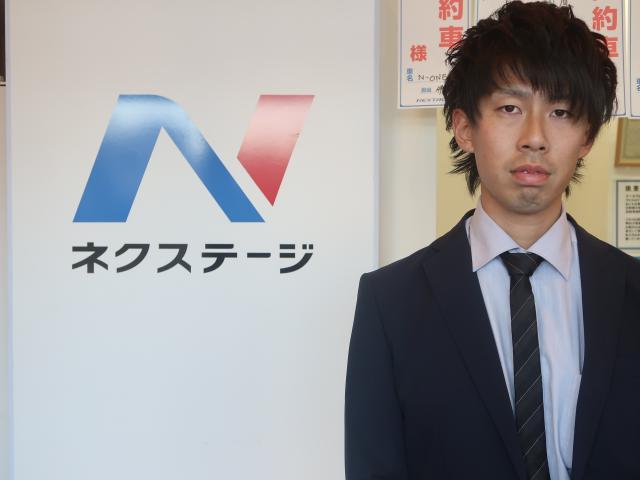 ネクステージのスタッフ写真 チーフアドバイザー 鈴木唯斗