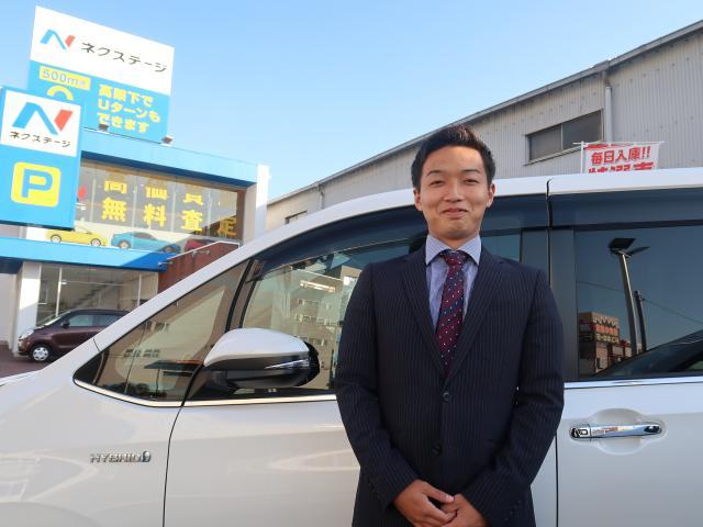 ネクステージのスタッフ写真 カーライフアドバイザー 錦戸 翔