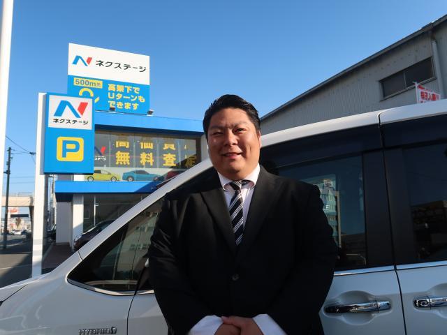 ネクステージのスタッフ写真 カーライフアドバイザー 高嶋 良太