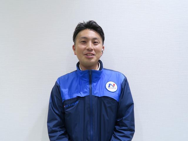 ネクステージのスタッフ写真 副店長 寺田 匡志