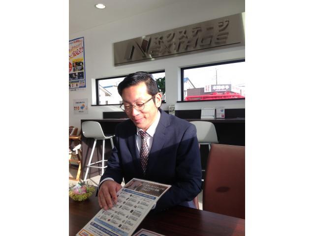 ネクステージのスタッフ写真 カーライフアドバイザー 西谷 康弘