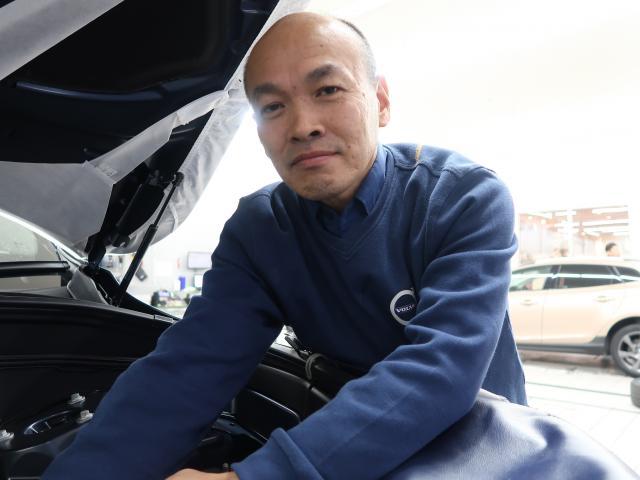 ネクステージのスタッフ写真 サービスアドバイザー 吉岡 新嗣