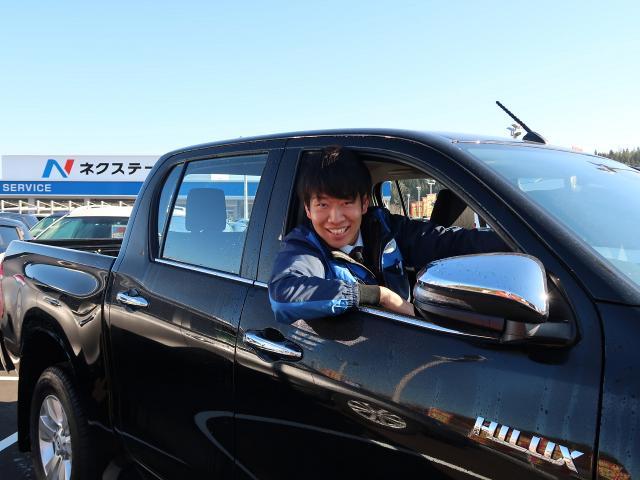 ネクステージのスタッフ写真 カーライフアドバイザー 島田 蓮