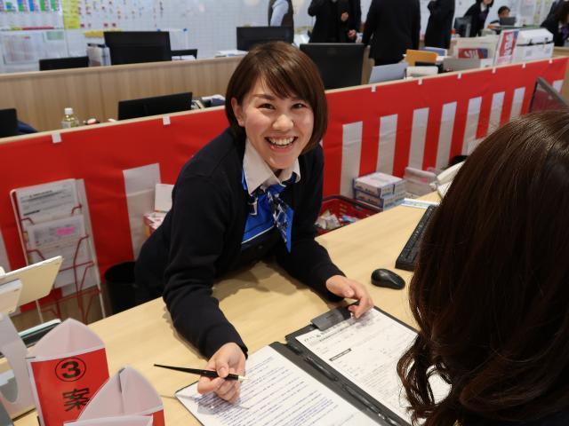 ネクステージのスタッフ写真 カーライフプランナー 西尾 千穂美
